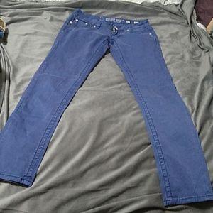 Vintage Size 27 Miss Me Denim Brand Skinny Jeans